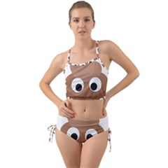 Poo Happens Mini Tank Bikini Set