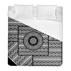 Wavy Panels Duvet Cover (full/ Double Size) by linceazul