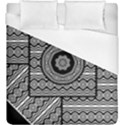 Wavy Panels Duvet Cover (King Size) View1