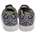 Wavy Panels Women s Classic Low Top Sneakers View4