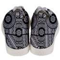 Wavy Panels Men s Mid-Top Canvas Sneakers View4
