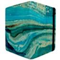 Mint,gold,marble,nature,stone,pattern,modern,chic,elegant,beautiful,trendy Apple iPad 3/4 Flip Case View4