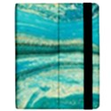 Mint,gold,marble,nature,stone,pattern,modern,chic,elegant,beautiful,trendy Samsung Galaxy Tab 7  P1000 Flip Case View2