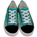 Mint,gold,marble,nature,stone,pattern,modern,chic,elegant,beautiful,trendy Women s Low Top Canvas Sneakers View1