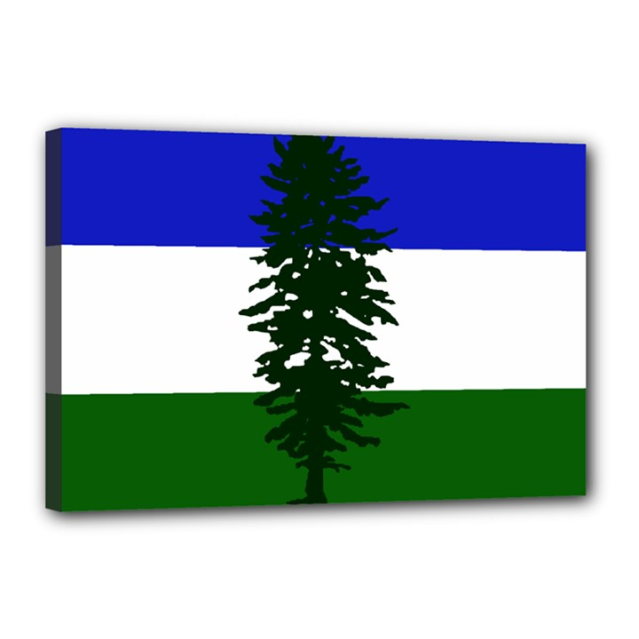 Flag of Cascadia Canvas 18  x 12