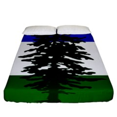 Flag Of Cascadia Fitted Sheet (king Size) by abbeyz71