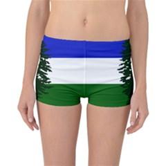 Flag Of Cascadia Reversible Boyleg Bikini Bottoms