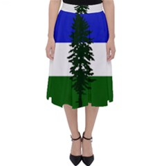 Flag Of Cascadia Folding Skater Skirt by abbeyz71