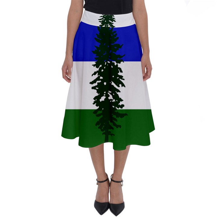 Flag of Cascadia Perfect Length Midi Skirt