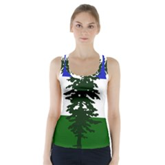 Flag Of Cascadia Racer Back Sports Top
