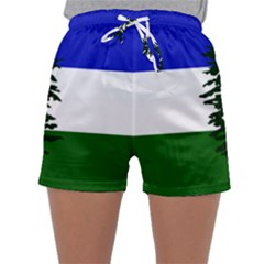 Flag Of Cascadia Sleepwear Shorts by abbeyz71