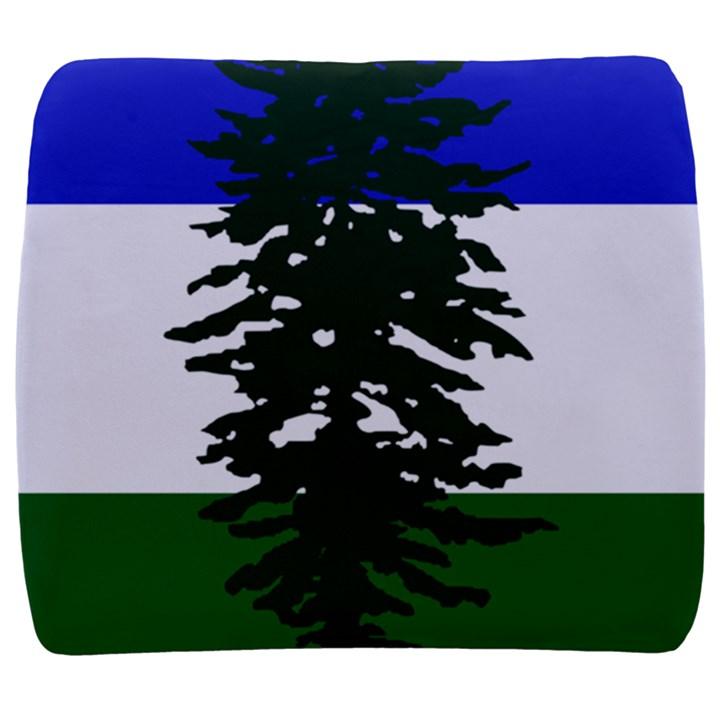 Flag of Cascadia Back Support Cushion