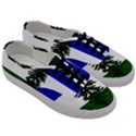 Flag of Cascadia Men s Classic Low Top Sneakers View3