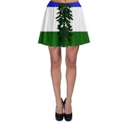 Flag Of Cascadia Skater Skirt