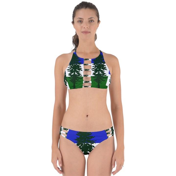 Flag of Cascadia Perfectly Cut Out Bikini Set