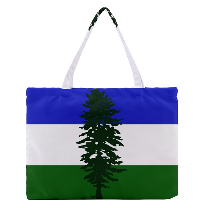 Flag of Cascadia Zipper Medium Tote Bag