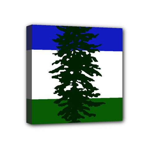 Flag Of Cascadia Mini Canvas 4  X 4