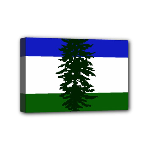Flag Of Cascadia Mini Canvas 6  X 4  by abbeyz71