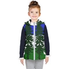 Flag Of Cascadia Kid s Puffer Vest by abbeyz71