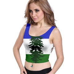 Flag Of Cascadia Crop Top by abbeyz71