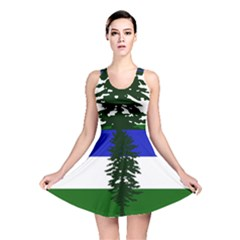 Flag Of Cascadia Reversible Skater Dress by abbeyz71