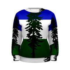 Flag Of Cascadia Women s Sweatshirt