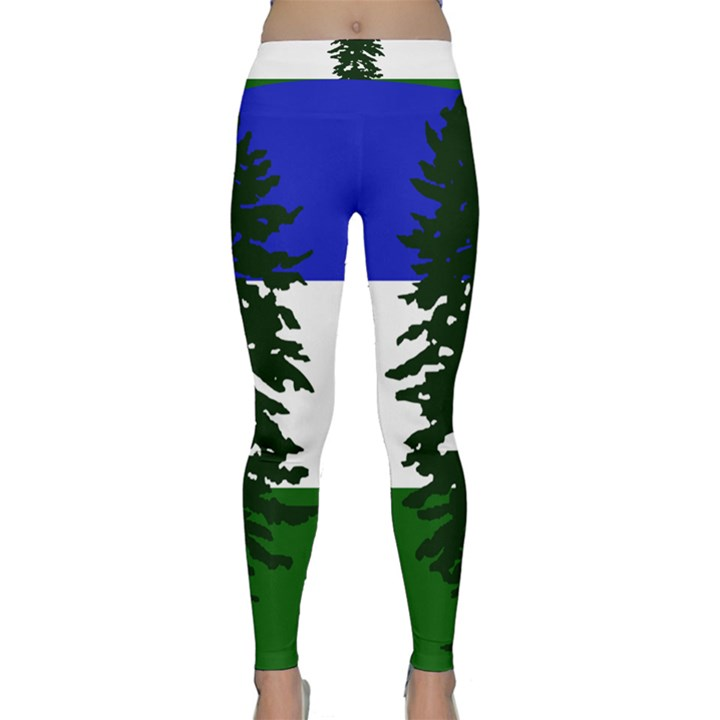 Flag of Cascadia Classic Yoga Leggings