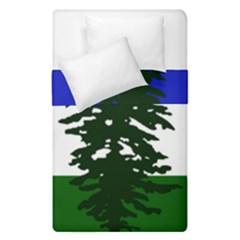 Flag Of Cascadia Duvet Cover Double Side (single Size)