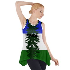Flag Of Cascadia Side Drop Tank Tunic by abbeyz71