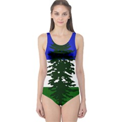 Flag Of Cascadia One Piece Swimsuit by abbeyz71