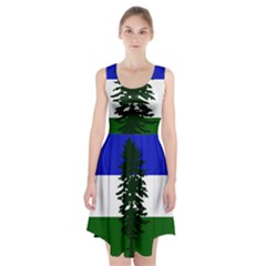 Flag Of Cascadia Racerback Midi Dress