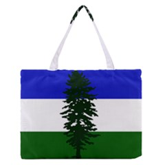Flag Of Cascadia Zipper Medium Tote Bag by abbeyz71