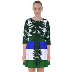 Flag Of Cascadia Smock Dress