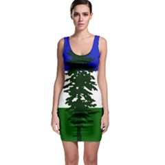Flag Of Cascadia Bodycon Dress by abbeyz71