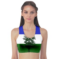 Flag Of Cascadia Sports Bra