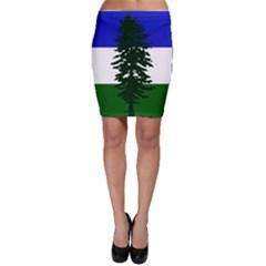 Flag Of Cascadia Bodycon Skirt