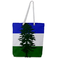 Flag Of Cascadia Full Print Rope Handle Tote (large) by abbeyz71
