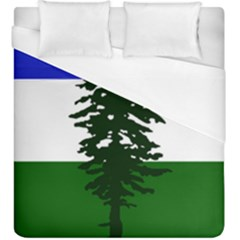 Flag Of Cascadia Duvet Cover (king Size) by abbeyz71