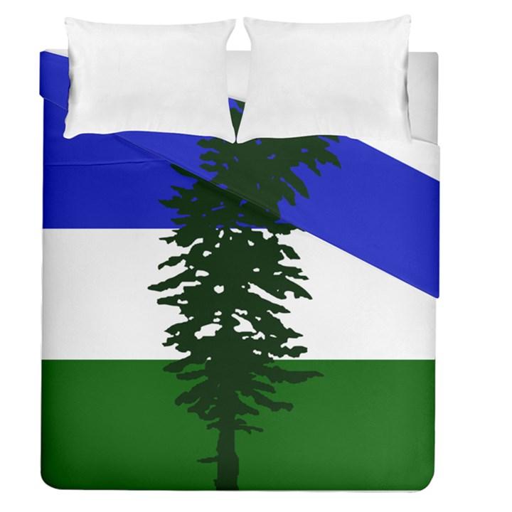 Flag of Cascadia Duvet Cover Double Side (Queen Size)