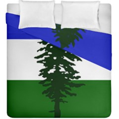 Flag Of Cascadia Duvet Cover Double Side (king Size)