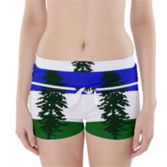 Flag Of Cascadia Boyleg Bikini Wrap Bottoms by abbeyz71
