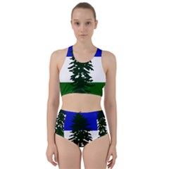 Flag Of Cascadia Racer Back Bikini Set