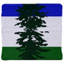 Flag of Cascadia Back Support Cushion View4