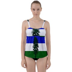 Flag Of Cascadia Twist Front Tankini Set by abbeyz71