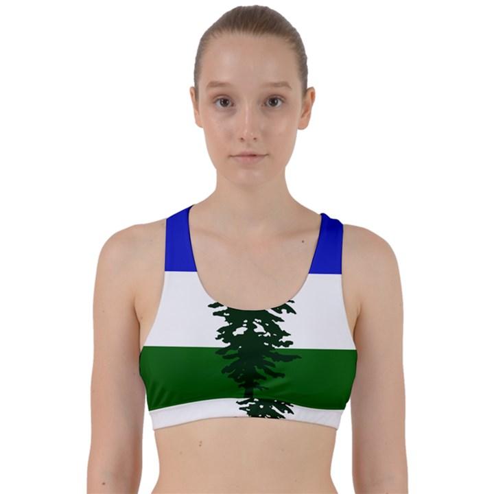 Flag of Cascadia Back Weave Sports Bra