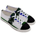 Flag of Cascadia Women s Low Top Canvas Sneakers View3