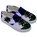 Flag of Cascadia Kids  Canvas Slip Ons View3