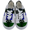 Flag of Cascadia Kids  Classic Low Top Sneakers View1