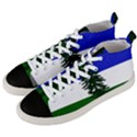 Flag of Cascadia Men s Mid-Top Canvas Sneakers View2