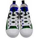 Flag of Cascadia Kid s Mid-Top Canvas Sneakers View1